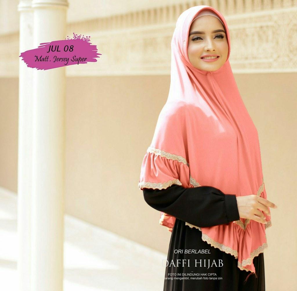 Jilbab Rempel Renda By Daffi Ecer Idr 75 000 Grosir Idr 67 Flickr