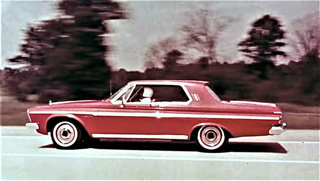 1963 Plymouth Fury Dealer Promo