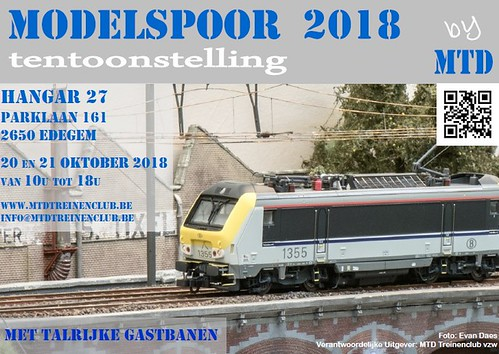 Flyer Modelspoor 2018 horizontaal - final | by suske_1959