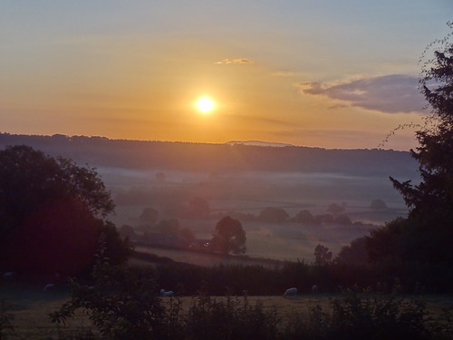 Sunrise over Grey Valley | by Mary Loosemore