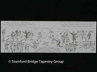 Panel 6 design | by Stamford Bridge Tapestry Project