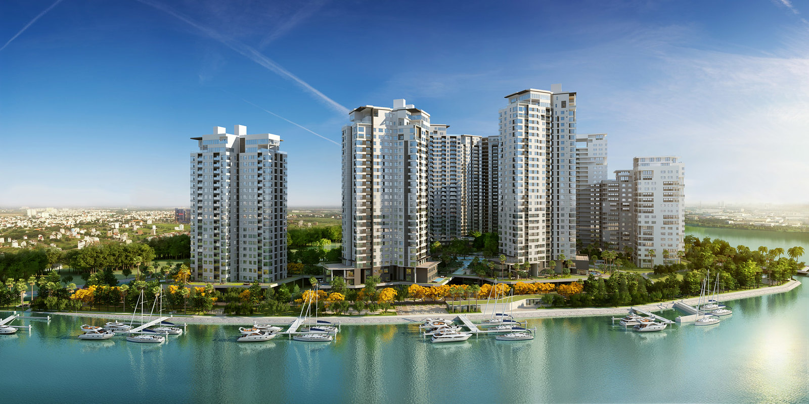 thông tin dự án căn hộ Đảo Kim Cương Quận 2
