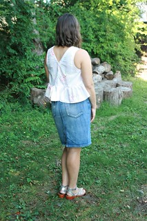 Peppermint Magazine Peplum Top:  Two Version | by patternandbranch