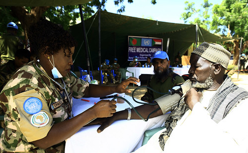 20180830-Th-Flickr-UNAMID20180809Elsadig Daud, free medical service in El Geneina, West Darfur | by UNAMID Photo