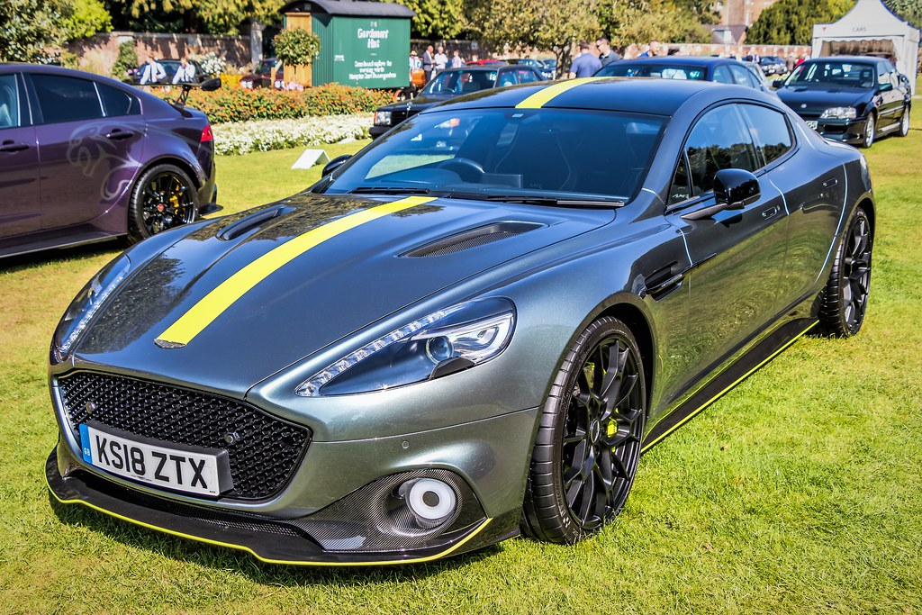 2018 Aston Martin Rapide Amr Concours Of Elegance Hampto Flickr