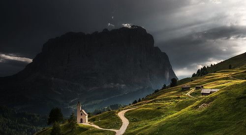 Chapel in the Dolomites | by Dreamy Pixel