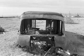 rust to dust. salton sea, ca. 2000. | by eyetwist