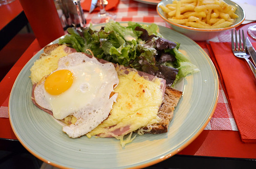 Croque-madame, Paris, France | by BuzzTrips