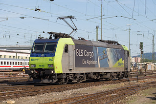 BLS Re 485 012 Basel Bad | by daveymills37886