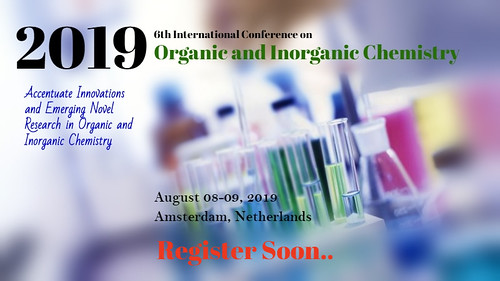 chemistry 13 | by Conference on Organic and Inorganic Chemistry
