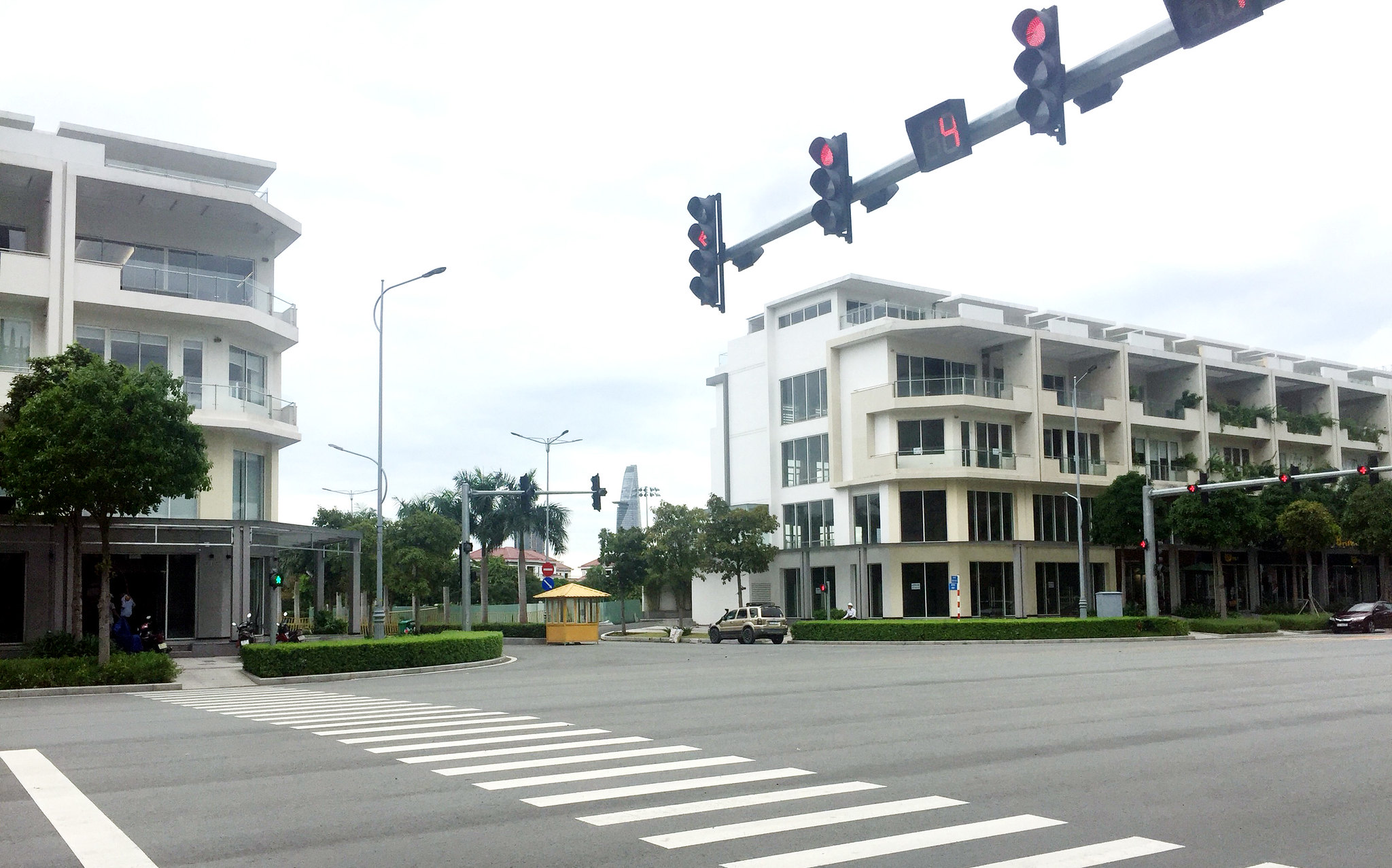Cho thuê shophouse Sala căn góc 2 mặt tiền đường Nguyễn Cơ Thạch