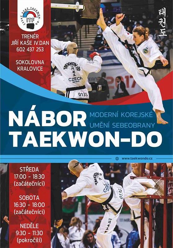 Nábor na Taekwon-Do