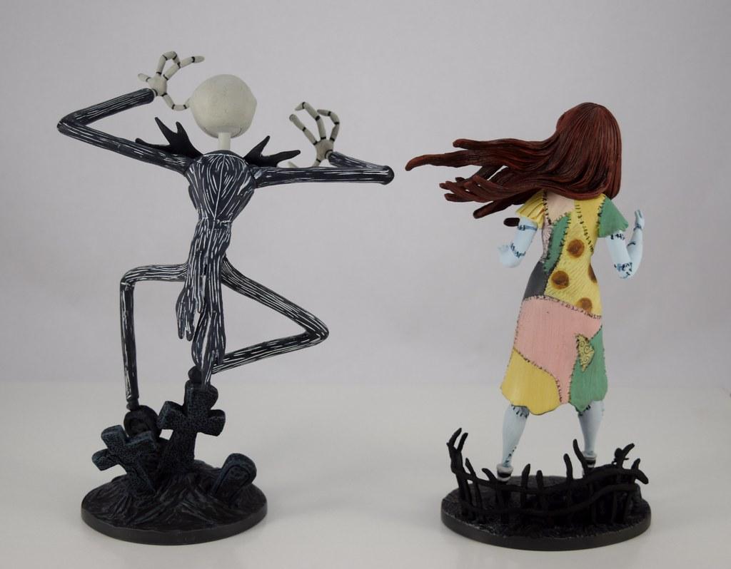 Grand Jester Studios Jack and Sally Vinyl Figures - Nightm… | Flickr