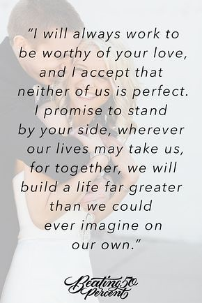 Love Quotes For Wedding I Promise That We Will Always Be Flickr
