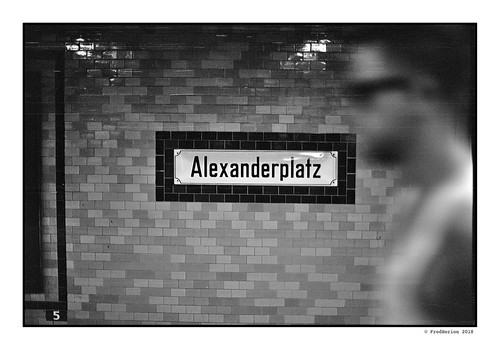 Berlin | Alexanderplatz U-Bahn | by Fred Herion