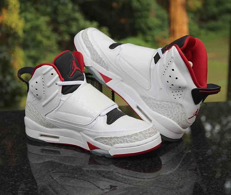 15da7f6c99a0 ... Air Jordan Son of Mars Kids White Red Black 512246-112 Size 5.5Y