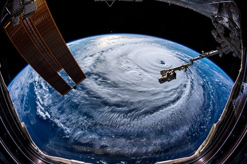 Hurricane Florence (from the ISS) | by cizauskas