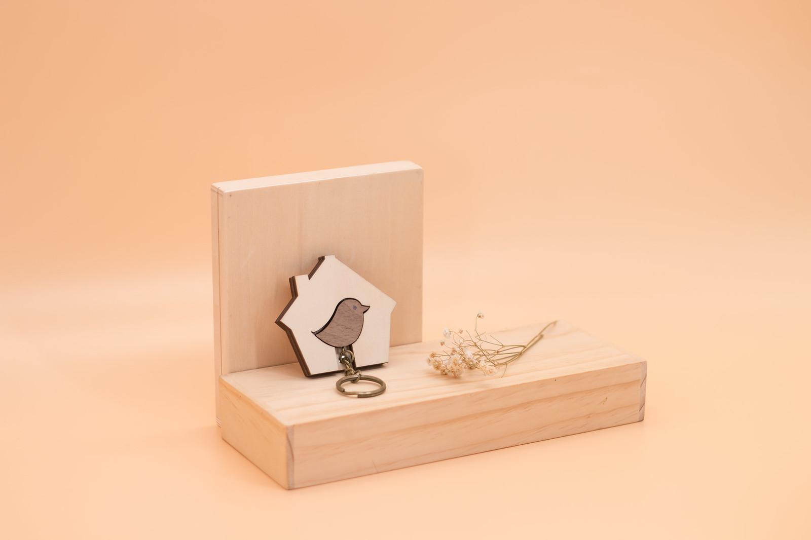 鑰匙圈 客製化 禮物 特色產品 居家 台灣設計 生日 情人節 情侶 鳥 動物 婚禮 結婚 房子 壁掛 簡約 多肉 玄關 療癒 聖誕節 收納 裝飾 吊飾 送禮 中性 木 楓木 胡桃木 鑰匙