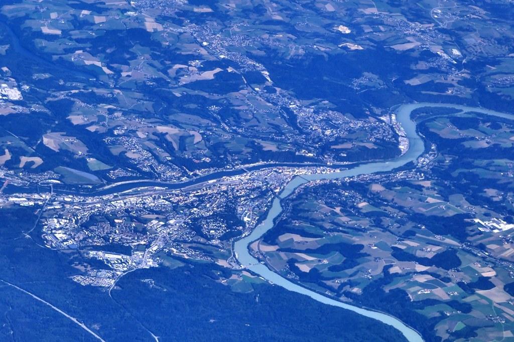 Flug Stuttgart Wien Passau Mjal Flickr