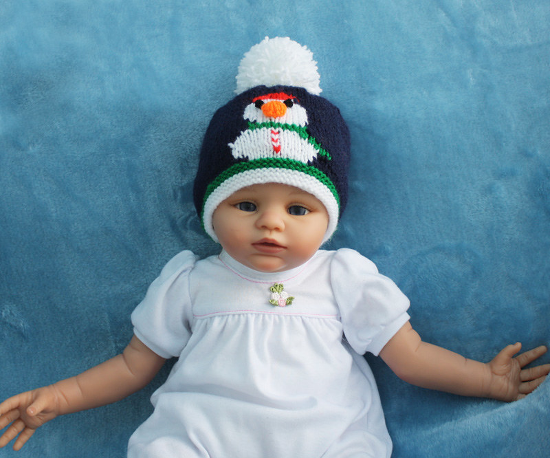 1a Snowman Hat With Pompom Frosty The Snowman Bobble Hat K Flickr