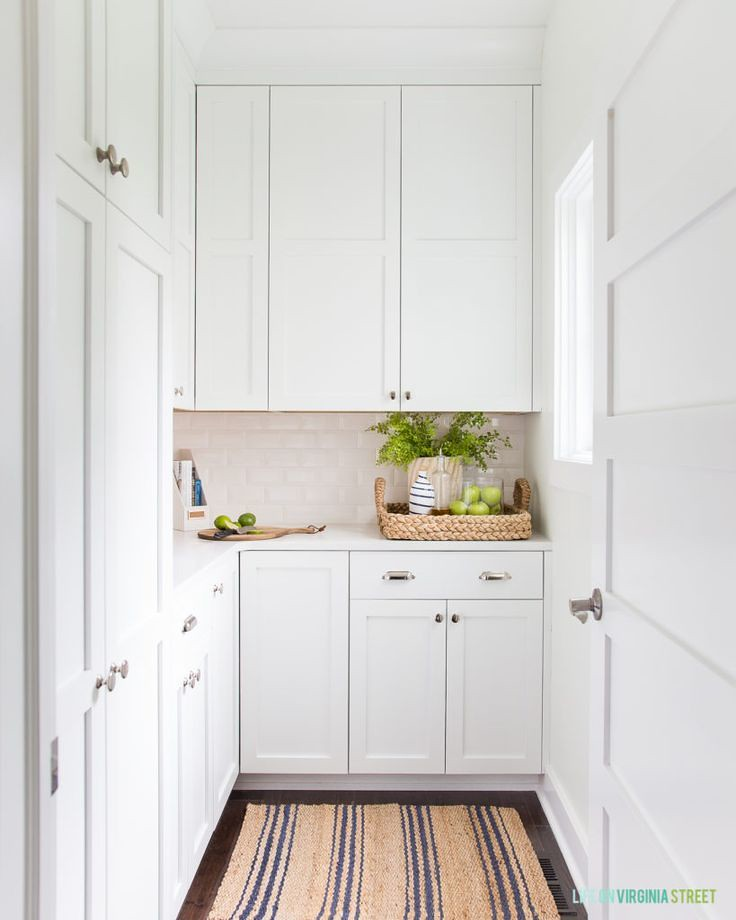 Diy Home Decor Ideas Gorgeous White And Bright Pantry Wit Flickr