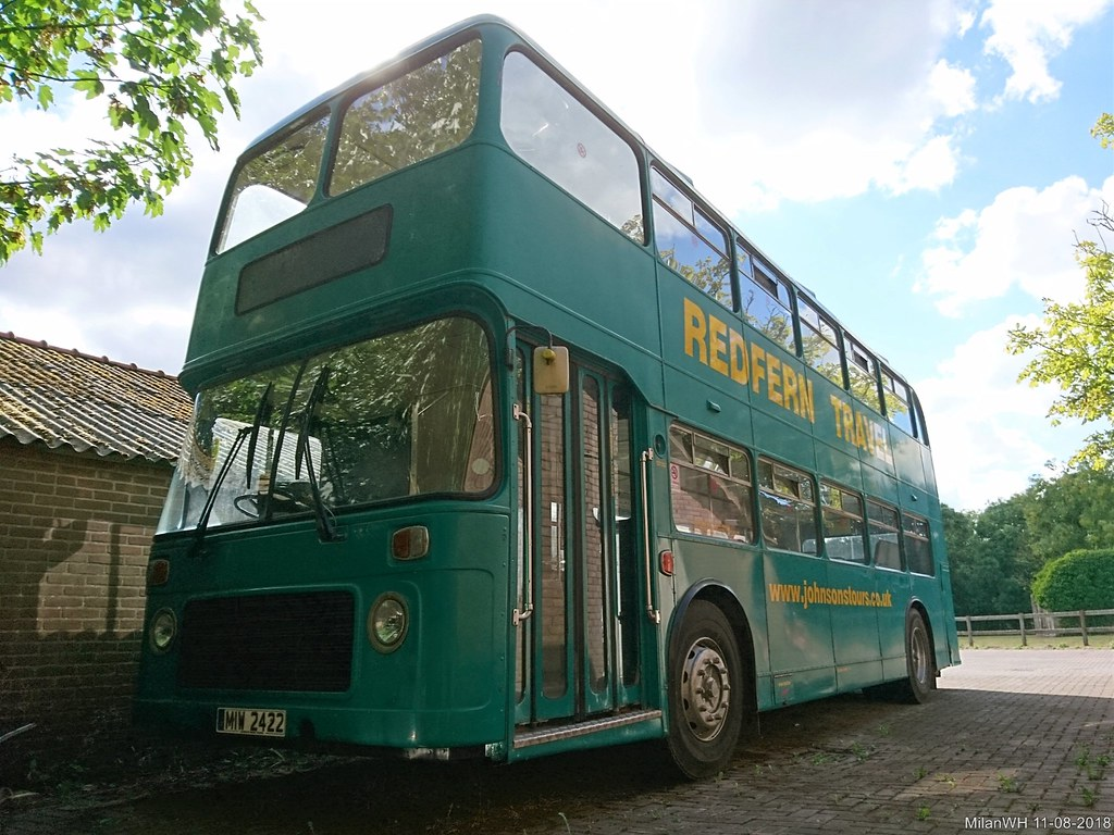 ... Bristol VR double decker bus 1978 (MIW-2422) | by MilanWH