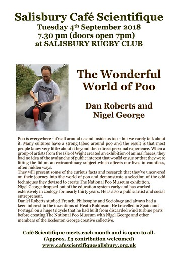 2018.09 poster for Dan Roberts and  Nigel George | by cafescisarum