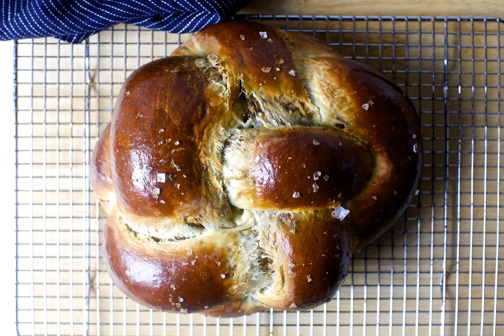 Cooling Fig Olive Oil And Sea Salt Challah On Smittenkitch Flickr