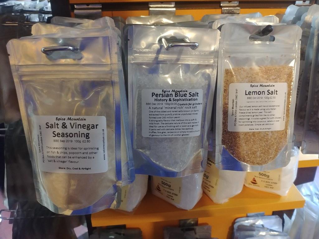 Various Salts, Spice Mountain, Borough Market, Southwark