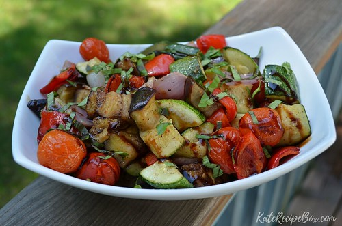 BalsamicGrilledVeggies | by katesrecipebox