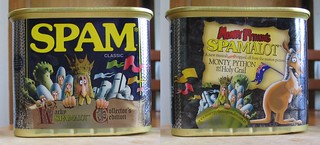 Spamalot spam can, August 2008 | by Daniel Bowen