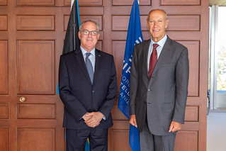 WIPO Director General Meets Bahamas Minister of Financial Services, Trade & Industry and Immigration | by WIPO | OMPI