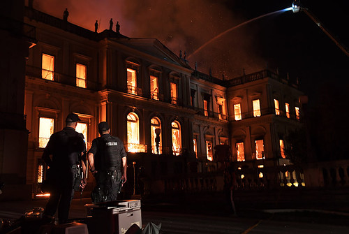 Brazil National Museum fire | by Numismatic Bibliomania Society