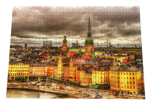 1000 Educa - Views of Stockholm, Sweden (2018-09-06) | by Puzzabell