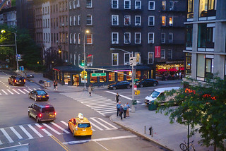 10th Ave and West 23rd St, from the High Line | by aenigmatēs