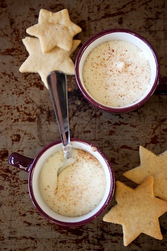 180 - Eggnog – White Chocolate with Cheesecake Pots Recipe | by Onlinefoodblog