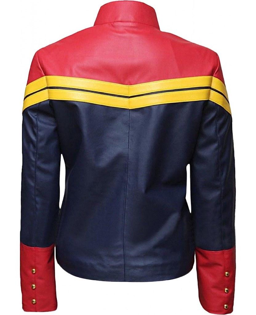 ... Carol Danvers Captain Marvel Leather Jacket for Fashionable Girls 2    by kellie.mayorga 9c164730ab9