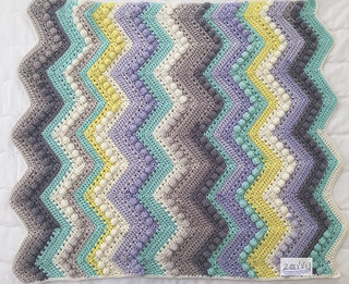 Chevron Blanket Horizontal | by Zavvy Creations