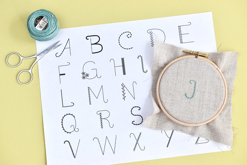 Alphabet Sampler Embroidery Pattern | by wildolive