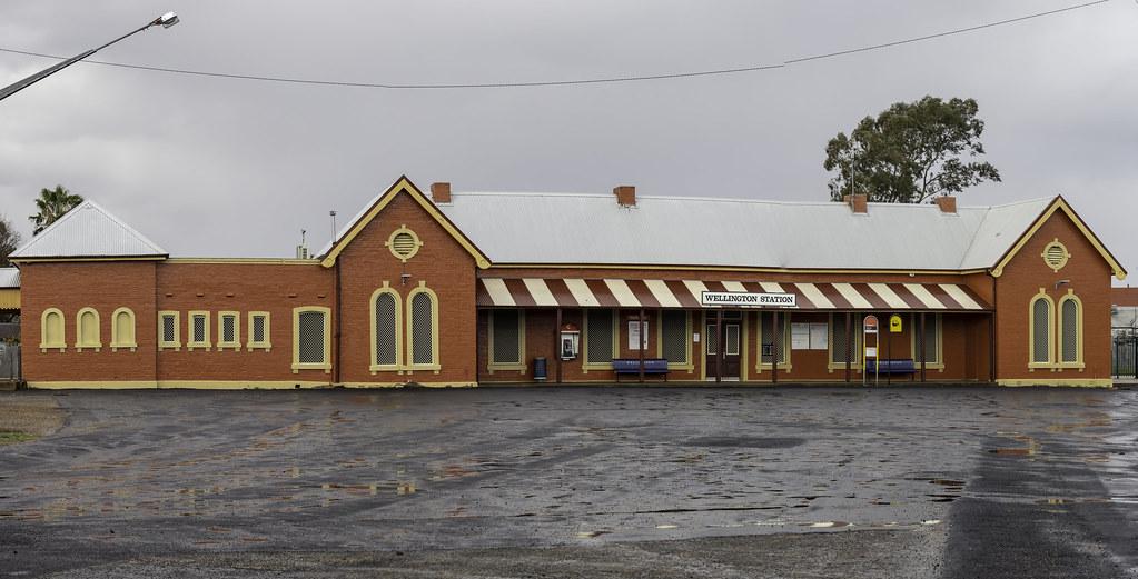 Wellington central railway station