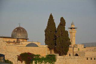 Jerusalem / Old City / Dome and tower / Above the Wailing Wall | by Pantchoa