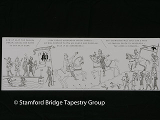 Panel 8 design | by Stamford Bridge Tapestry Project