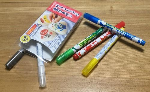 サランラップに描けるペン