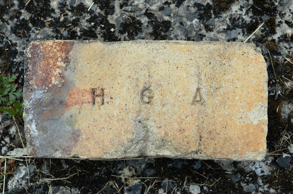 H G A - Found Blackburn, Lancs  2018 | Origin not known