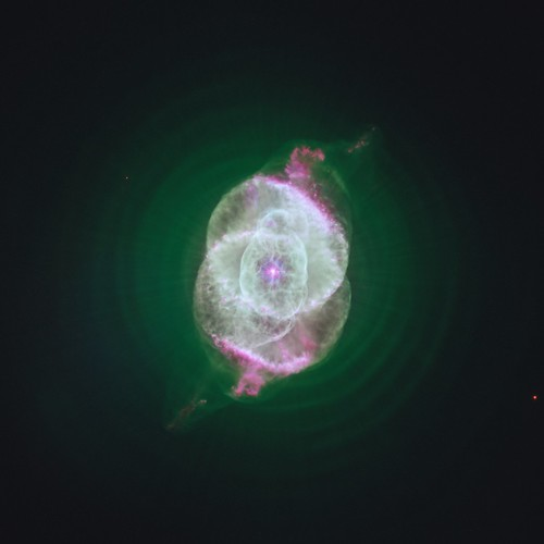 A Green Cat's Eye Nebula | by geckzilla