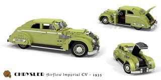 Chrysler Airflow Imperial Eight CV Coupe - 1935 | by lego911