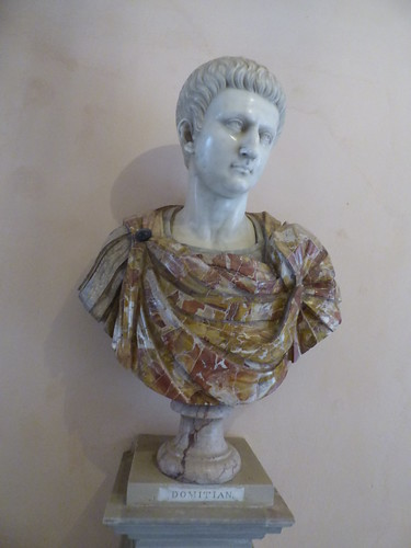 Powis Castle - bust of a Roman Emperor - Domitian | by ell brown
