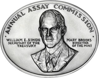 1976 Assay Commission medal Julian-AC-120-O | by Numismatic Bibliomania Society