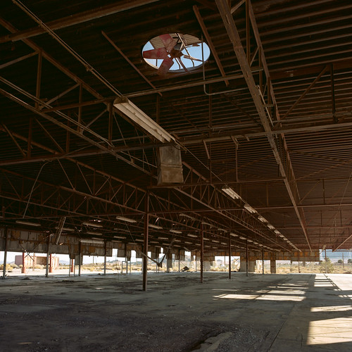 abandoned factory. mojave desert, ca. 2012. | by eyetwist
