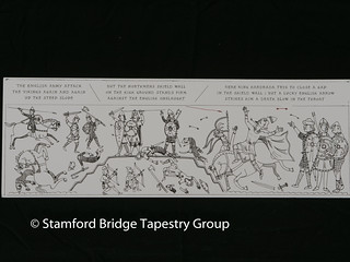 Panel 9 design | by Stamford Bridge Tapestry Project